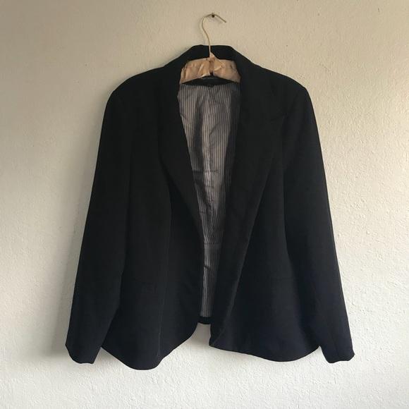 bd257fd7221 Worthington plus size open blazer